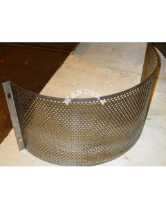 Zeef 6 mm voor hamermolen CF420